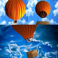 3D model balloon aircraft
