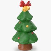christmas tree figurine 4 3D model