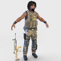 special soldier 4k model