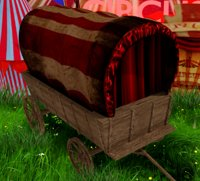 Covered Vintage Wagon