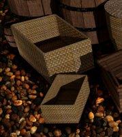 3D square basket