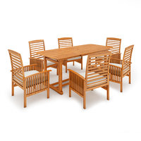 table chair set 3D