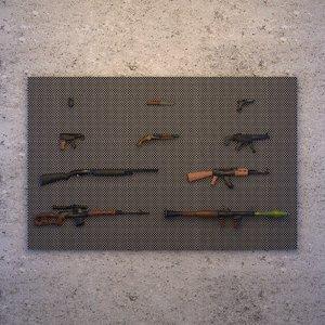 gun semi-realistic 3D