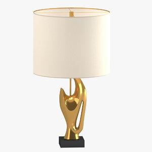3D model lamp 91