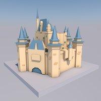 Castle Low Poly