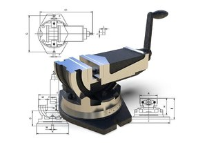 machine vise 3D model