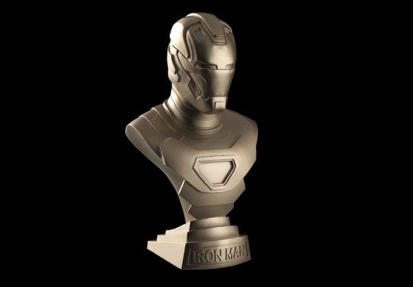 iron man armor parts 3D model