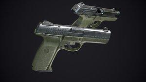 3D ruger gun