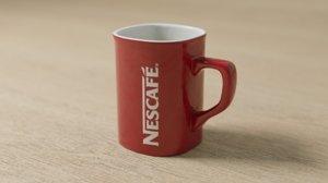 3D nescaf mug model