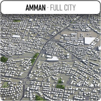 amman surrounding - model