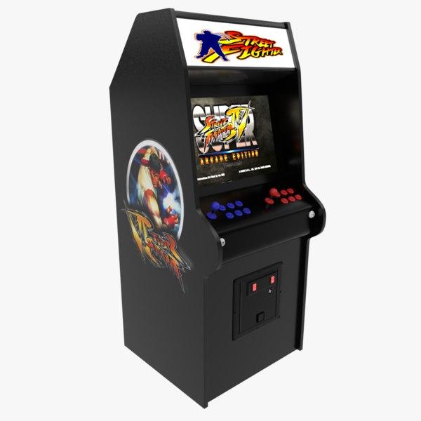 3D street fighters arcade