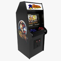 3D street fighters arcade