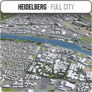 3D heidelberg surrounding - model