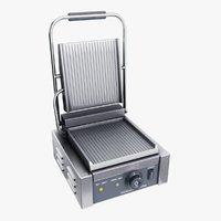 3D contact grill model