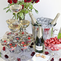 set champagne 3D model