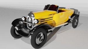 3D citron b2 caddy 1927
