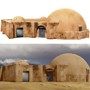 tatooine cantina 3D model