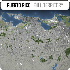 puerto rico - airport model