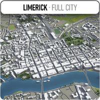 3D limerick surrounding -