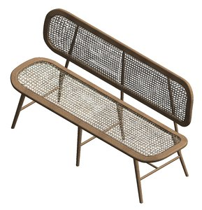 revit modern rattan leisure 3D model