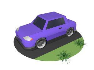 3D vehicle car wheel