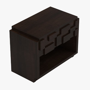 lane furniture night table 3D