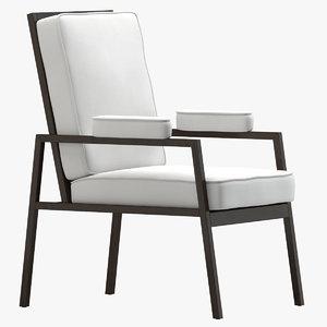3D marc du plantier armchair