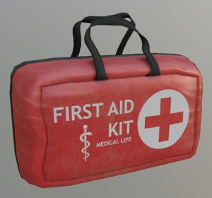 3D firstaidkit survival