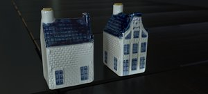 dutch delft house 3D model