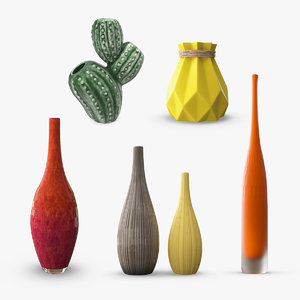 3D decor vase 2