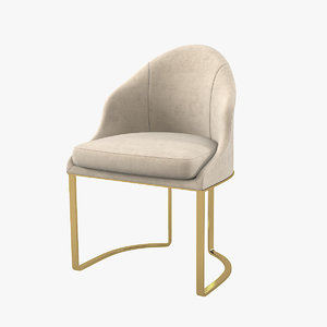 longhi daphne chair 3D model