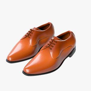 business shoes 02 3D model