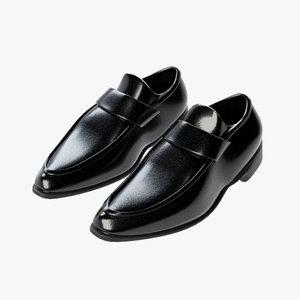 3D business shoes 04