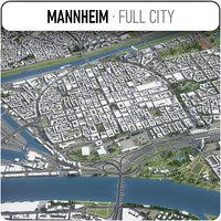 3D mannheim surrounding -