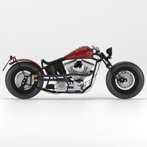 3D zero engineering motorcycle type