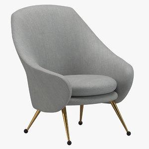 3D marco zanuso martingala chair