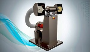 polishing machine 3D model