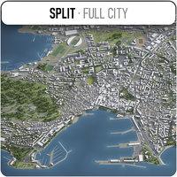 split surrounding - 3D