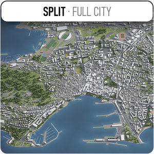 split surrounding - 3D