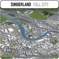 3D sunderland surrounding -