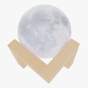 diy moon light 3D