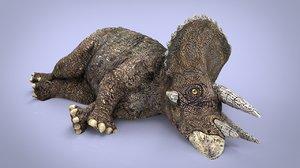 beast animal nature 3D model