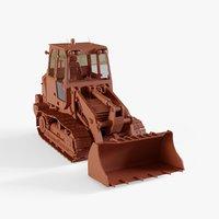 3D compact track loader model