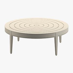 3D mckinnon harris table 3 model