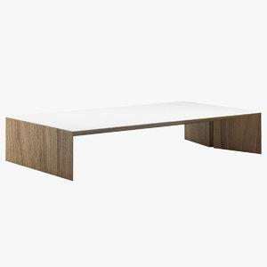 3D mesa matriz table model