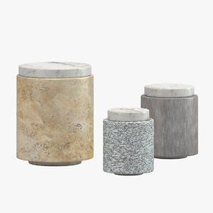 michael verheyden stone containers 3D