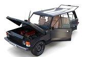 rover range interior chassis model
