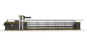 machine industrial manufacturing 3D model