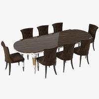 longhi layton marioni table 3D