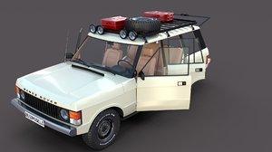 rover range interior 3D model
